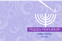 Hanukkah2 Greeting Card (55x85)